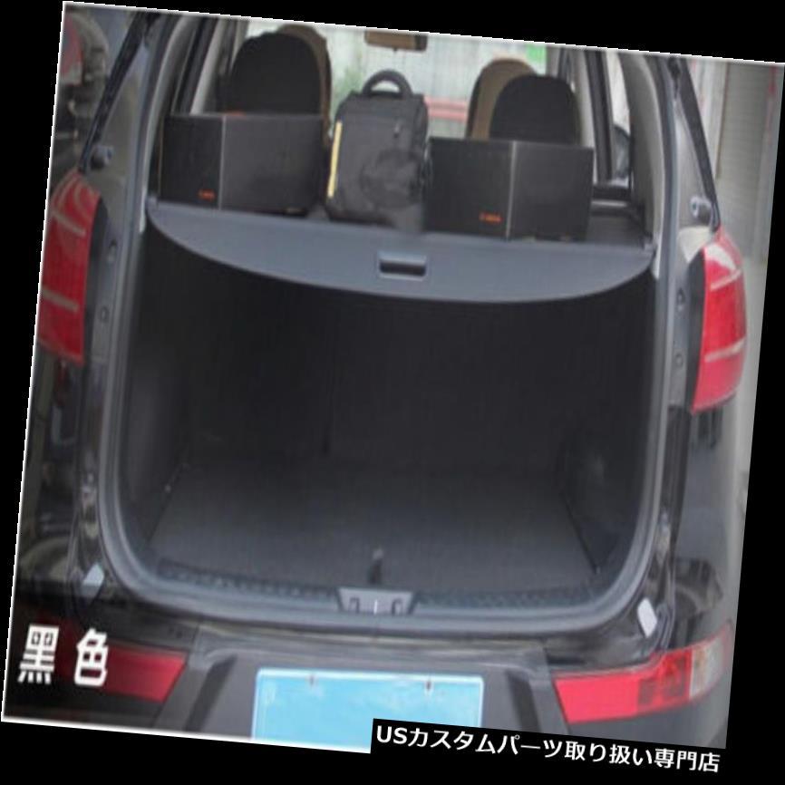 リアーカーゴカバー Kia Sportage R 2011 - 2014カーゴカバー用リアトランクシェードブラックカーゴカバー Rear Trunk Shade Black Cargo Cover For Kia Sportage R 2011 - 2014 Cargo cover