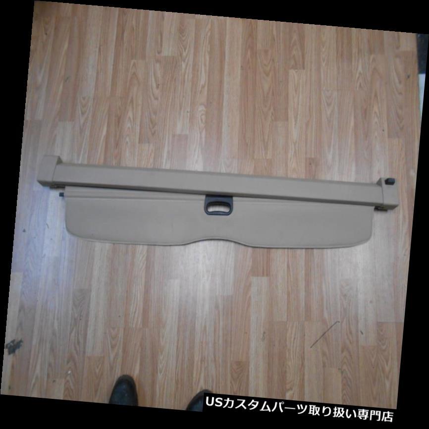リアーカーゴカバー 2004-2006 OEM BMW X 5の引き込み式の後部貨物カバートランクの陰04-06日焼け 2004-2006 OEM BMW X5 Retractable Rear Cargo Cover Trunk Shade 04-06 Tan
