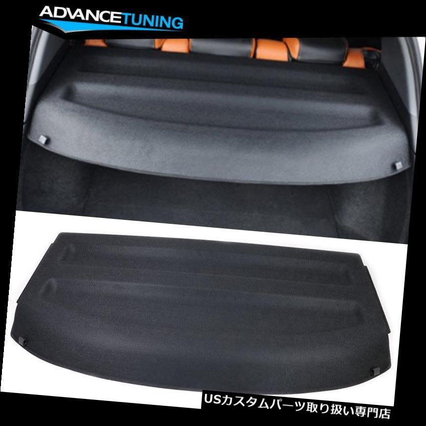 リアーカーゴカバー 16-18ホンダHR-VリアカーゴカバートランクシールドカバーブラックABSにフィット Fits 16-18 Honda HR-V Rear Cargo Cover Trunk Shield Cover Black ABS