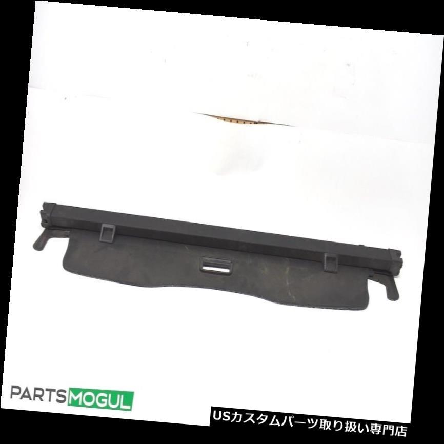 リアーカーゴカバー 03-10ポルシェカイエンリアラゲッジトランクシェードカーゴカバーグレービニールブラックOEM 03-10 Porsche Cayenne Rear Luggage Trunk Shade Cargo Cover Gray Vinyl Black OEM