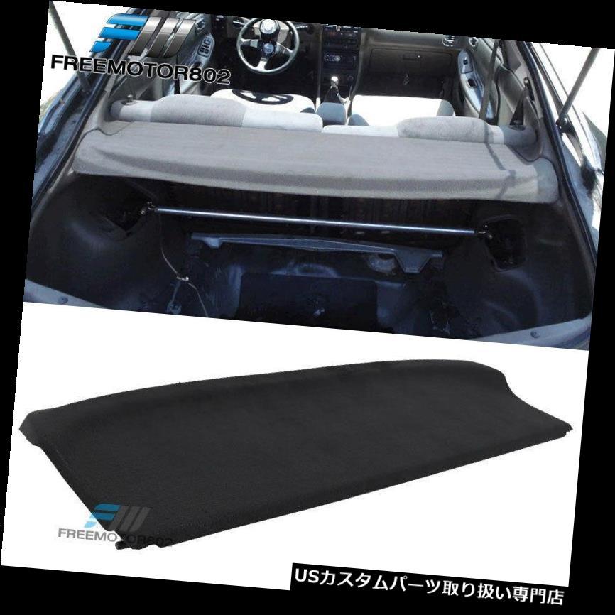 リアーカーゴカバー 94-01アキュラインテグラOEスタイルトランク貨物セキュリティカバーにフィット Fits 94-01 Acura Integra OE Style Trunk Cargo Security Cover