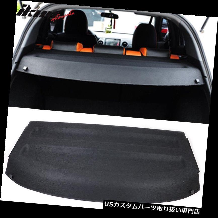 リアーカーゴカバー 16-18ホンダHRV HR-VカーゴカバーリアトランクシールドブラックABSにフィット Fits 16-18 Honda HRV HR-V Cargo Cover Rear Trunk Shield Black ABS
