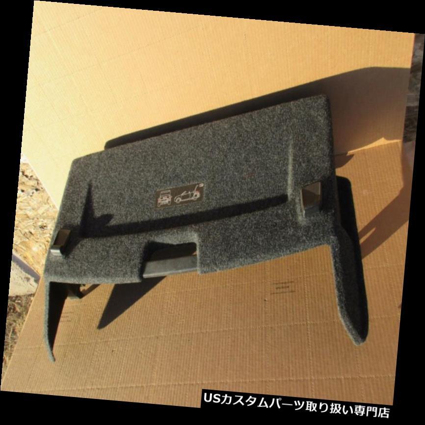 リアーカーゴカバー 2007フォルクスワーゲンEOS 2.0Tの後部トランクの皿の貨物カバー1Q0867071 OEM 2007 VOLKSWAGEN EOS 2.0T Rear Trunk Tray Cargo Cover 1Q0867071 OEM