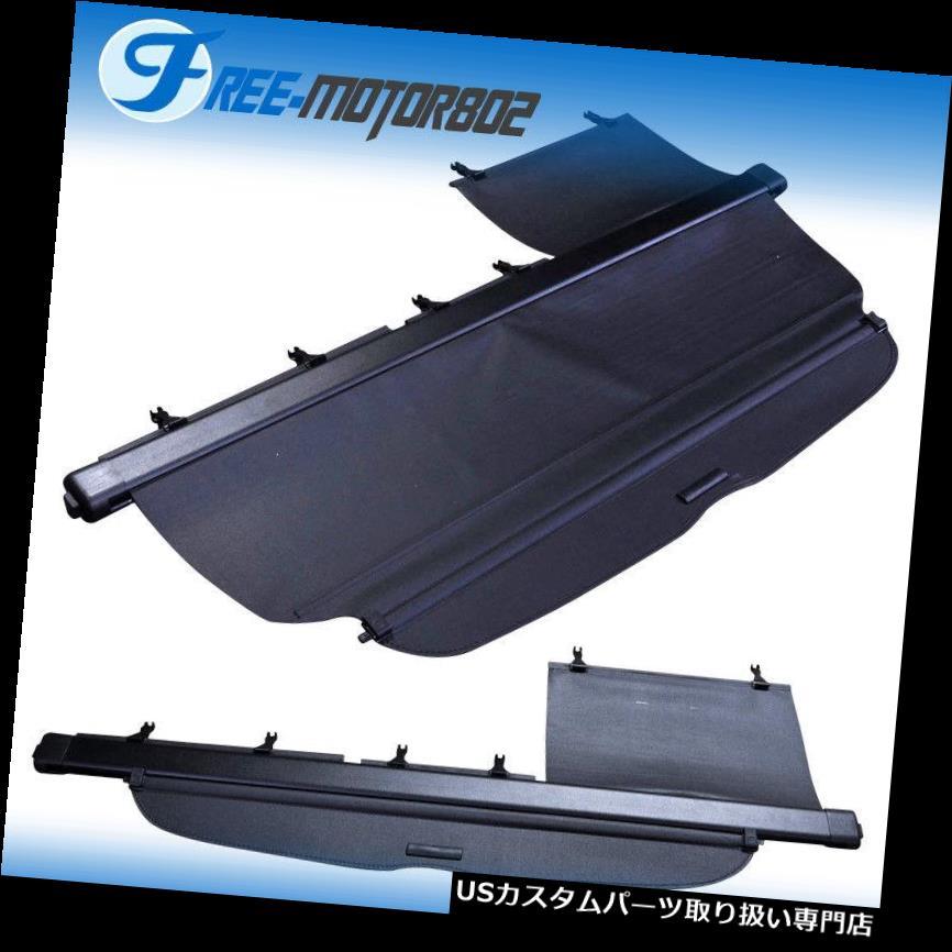 リアーカーゴカバー フィット07-11ホンダCRV CR-V格納式リアカーゴトランクカバーブラックOEスタイル Fit 07-11 Honda CRV CR-V Retractable Rear Cargo Trunk Cover Black OE Style