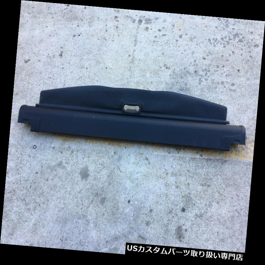 リアーカーゴカバー ? 04-10 OEM BMW E83 X3リアトランクラゲッジカーゴコンパートメントライナーカバーブラック ? 04-10 OEM BMW E83 X3 Rear Trunk Luggage Cargo Compartment Liner Cover Black