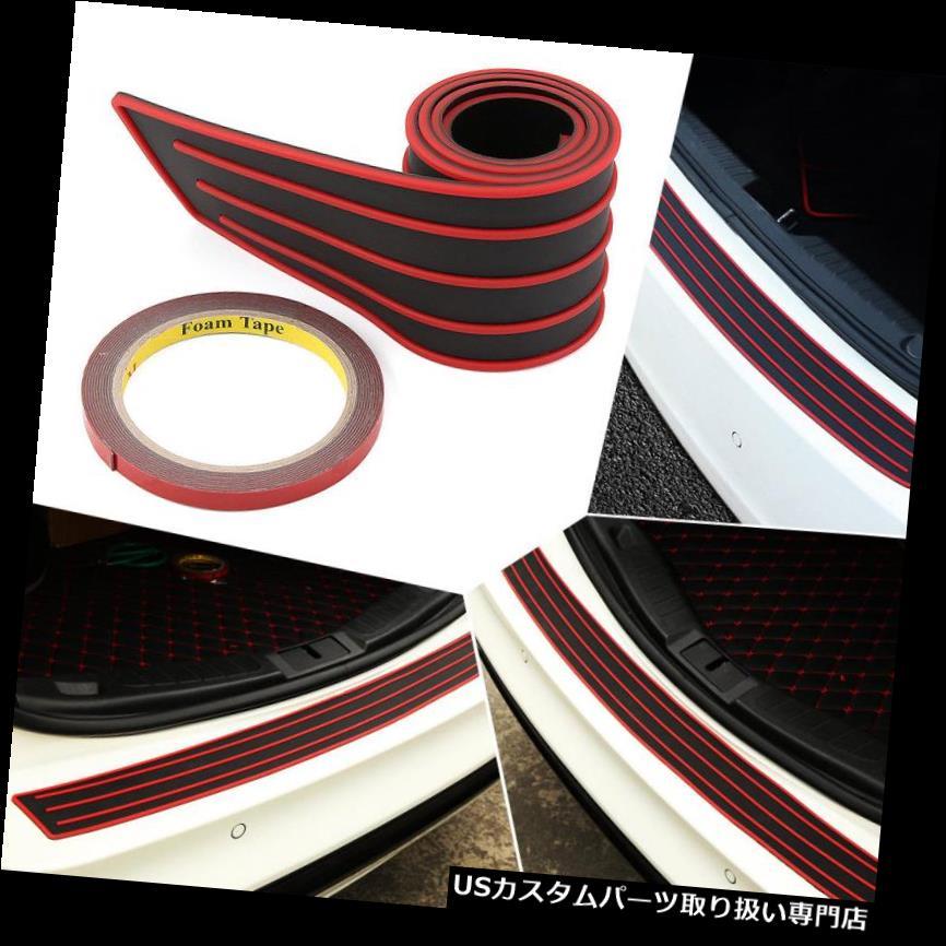 リアーカーゴカバー 1×3 * 35 '自動車カーリアトランクブーツカーゴバンパーガードラバーカバープロテクターバー 1x 3*35'' Auto Car Rear Trunk Boot Cargo Bumper Guard Rubber Cover Protector Bar