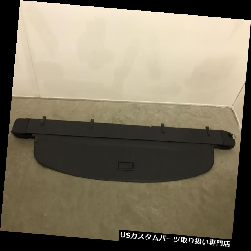 リアーカーゴカバー 本物のアウディQ7カーゴカバーブラック格納式荷物トランクシェードプライバシーブラインド Genuine Audi Q7 Cargo Cover black Retractable Luggage Trunk Shade privacy blind