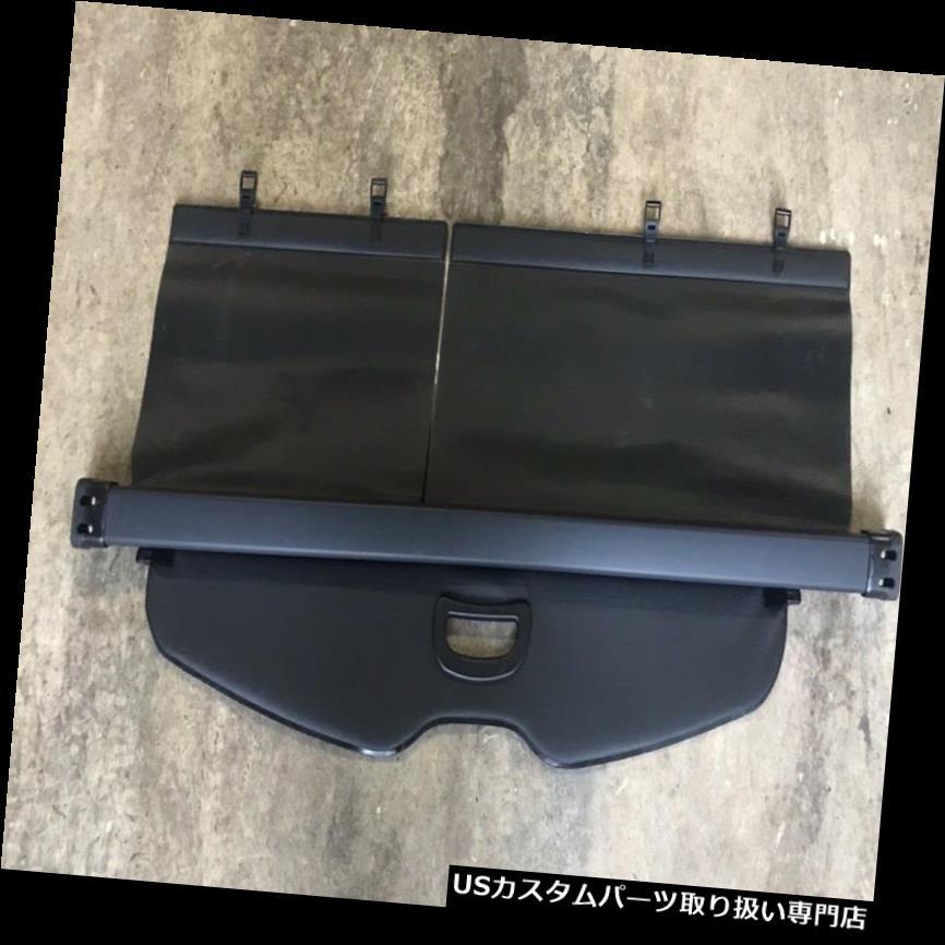 リアーカーゴカバー 2010年 - 2013年トヨタハイランダー格納式貨物カバートノーブラックオリジナルOEM 2010 - 2013 Toyota Highlander Retractable Cargo Cover Tonneau Black Original OEM