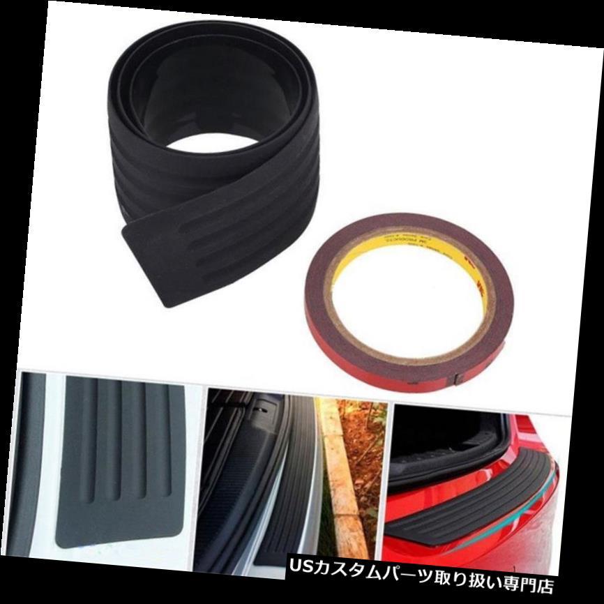 リアーカーゴカバー 3 * 35 ''ラバーカートランクブーツカーゴバンパーガードカバープロテクターアンチスクラッチBLK 3*35'' Rubber Car Trunk Boot Cargo Bumper Guard Cover Protector Anti-scratch BLK