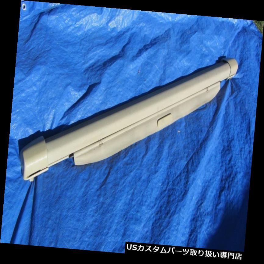 リアーカーゴカバー 94-00ボルボ850 XC70 V70 V70Rワゴン格納式小包カーゴカバーベージュレア 94-00 Volvo 850 XC70 V70 V70R Wagon Retractable Parcel Cargo Cover Beige RARE