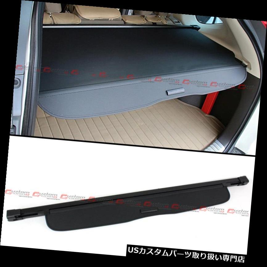 リアーカーゴカバー 2012-16年ホンダCR-V CRV OEスタイル格納式貨物カバー荷物シェードブラック For 2012-16 Honda CR-V CRV OE Style Retractable Cargo Cover Luggage Shade- Black