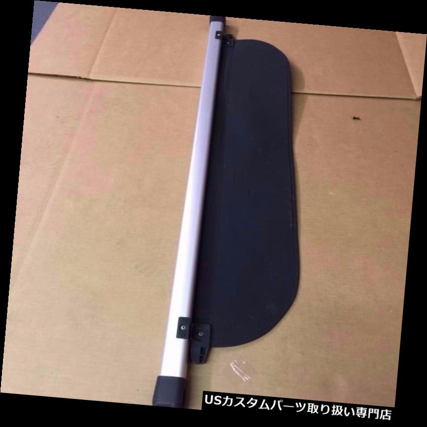 リアーカーゴカバー 09 10 11 12 13スバルフォレスターカーゴカバーセキュリティカバー - ブラック& A 銀 09 10 11 12 13 Subaru Forester Cargo Cover Security Cover - Black & Silver