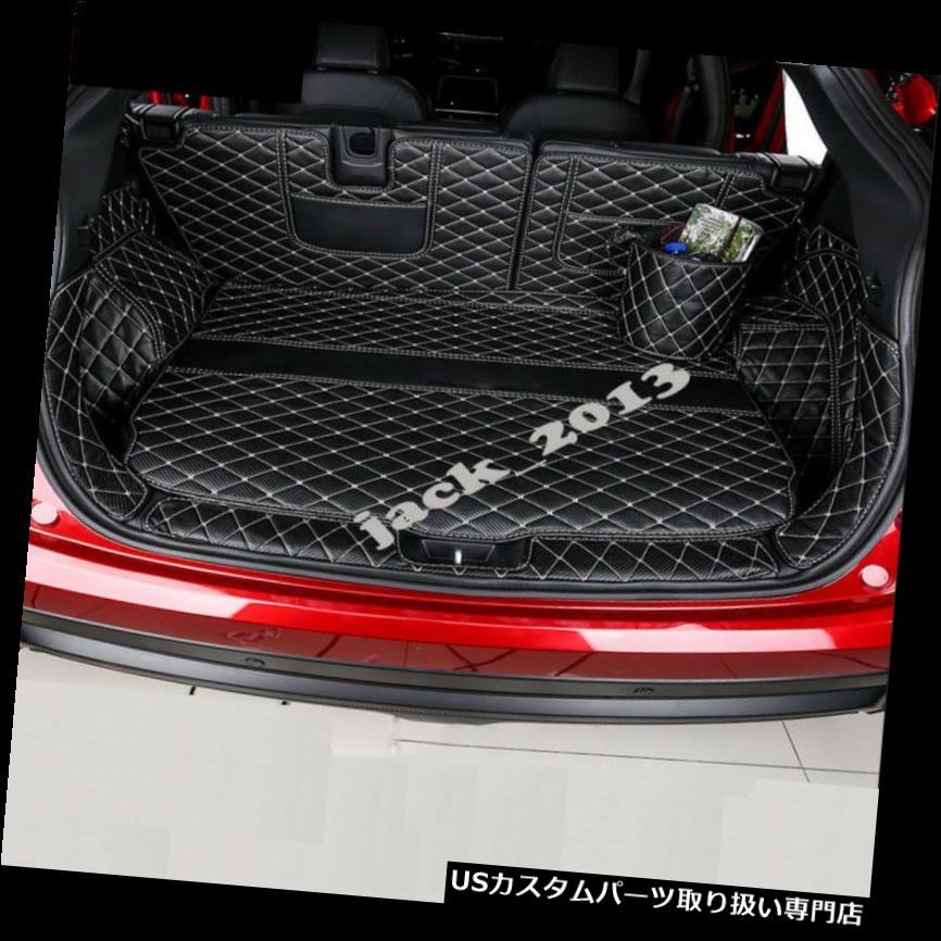 リアーカーゴカバー 三菱エクリプスクロス18用リアトランクカバーカーゴマットシート&フロアプロテクター Rear Trunk Cover Cargo Mats Seat&Floor Protector For Mitsubishi Eclipse Cross 18