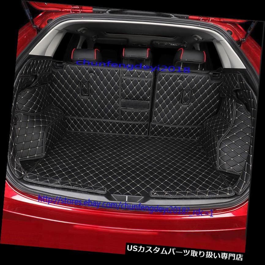リアーカーゴカバー マツダCX-5 2017 2018用リアトランク貨物ライナープロテクターシートバックカバー Rear Trunk Cargo Liner Protector Seat Back Cover For Mazda CX-5 2017 2018