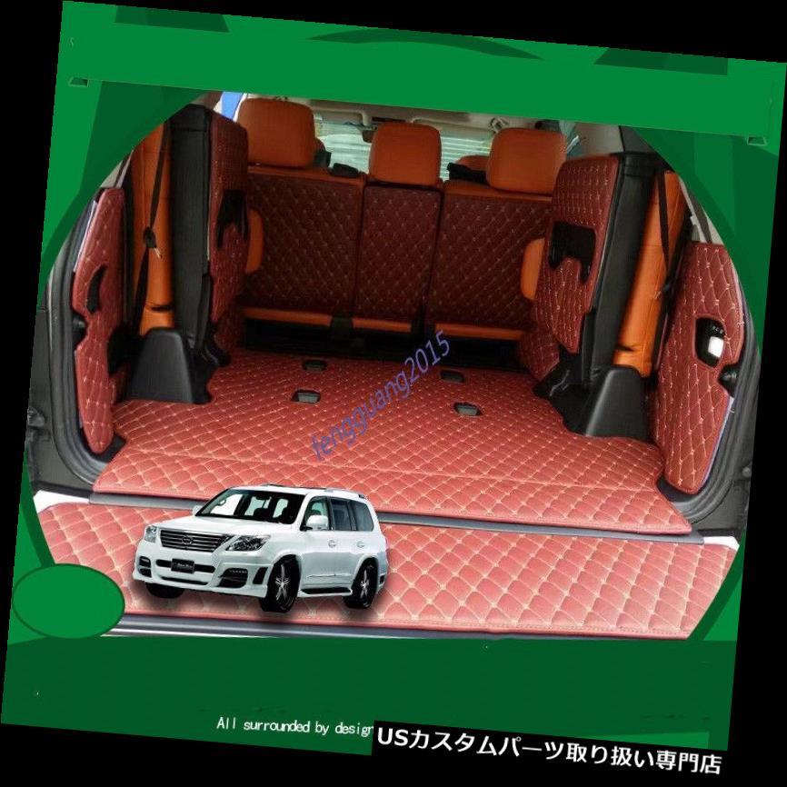 リアーカーゴカバー 11ピースリアトランクカバーカーゴマットシートプロテクター用レクサスLX570 2016 2017 2018 11pcs Rear Trunk Cover Cargo Mats Seat Protector For LEXUS LX570 2016 2017 2018