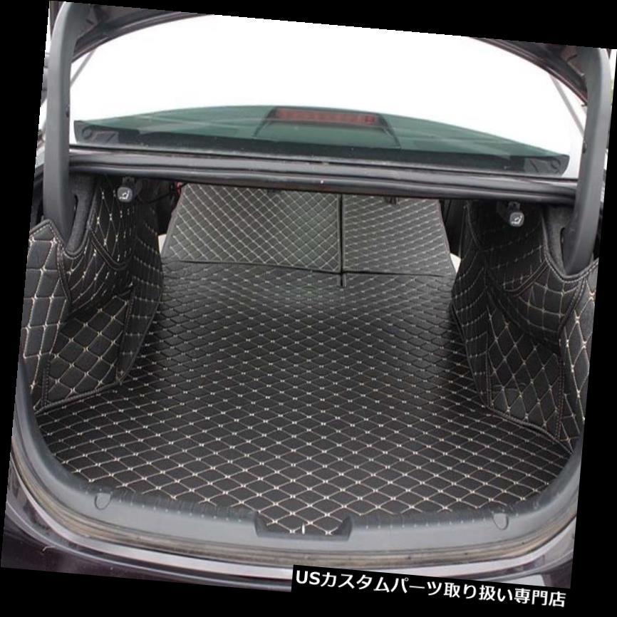 リアーカーゴカバー 新しいブラックリアトランクカバーカーゴマットシート&マツダアテンザ用フロアプロテクター New Black Rear Trunk Cover Cargo Mats Seat&Floor Protector For Mazda Atenza