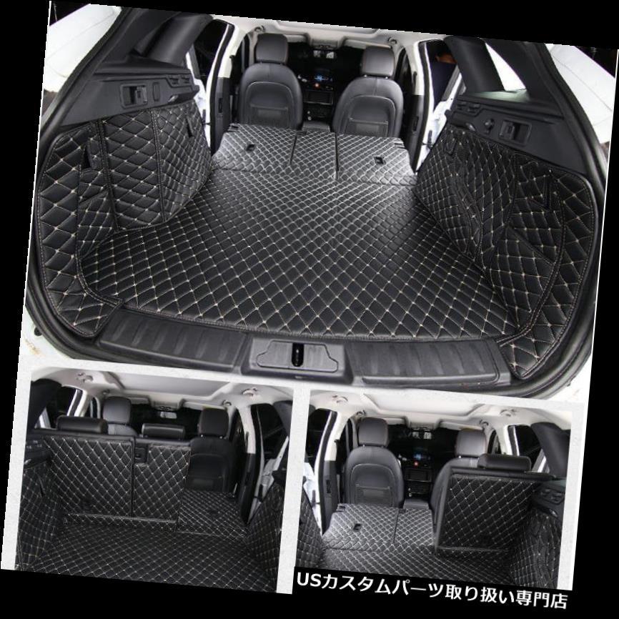 リアーカーゴカバー 6本セットリアトランクカバーカーゴマットシートプロテクター用ジャガーFペース2016 2017 6pcs set Rear Trunk Cover Cargo Mats Seat Protector For Jaguar F-Pace 2016 2017
