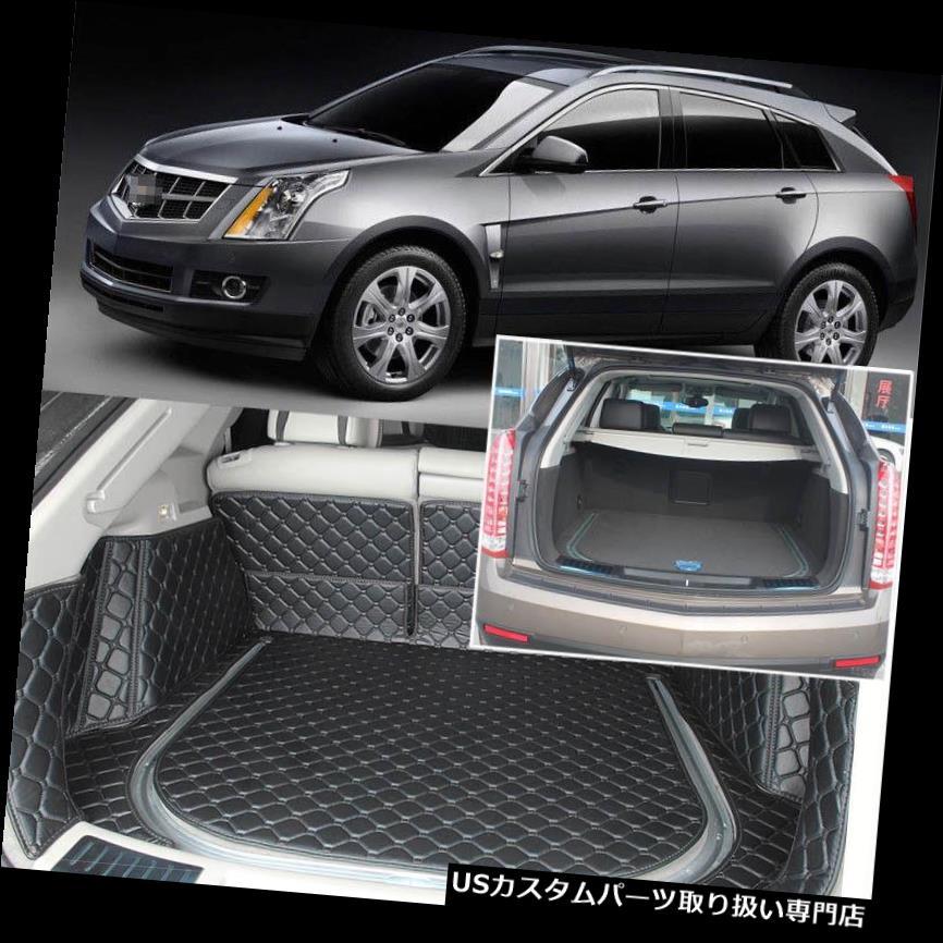 リアーカーゴカバー キャデラックSRX用5本ブラックリアトランクカバーカーゴマットシート&フロアプロテクター 5pcs Black Rear Trunk Cover Cargo Mats Seat&Floor Protector For Cadillac SRX