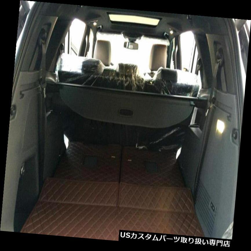 リアーカーゴカバー フォードエベレスト4Dr 2015年 - 2017年1セットのための黒い後部トランクセキュリティ貨物カバーシールド Black Rear Trunk Security Cargo Cover Shield for Ford Everest 4Dr 2015-2017 1set