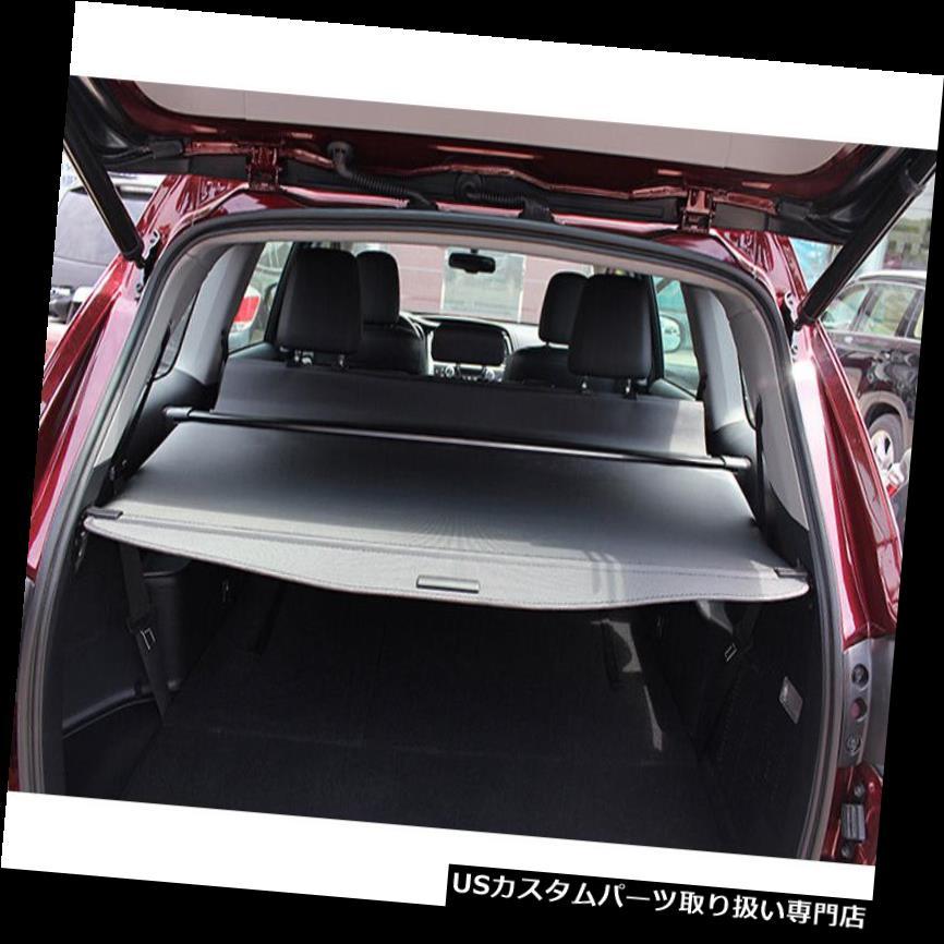リアーカーゴカバー トヨタハイランダー7席2014-16用黒格納式リア貨物トランクカバー Black Retractable Rear Cargo Trunk Cover For Toyota Highlander 7 Seats 2014-16