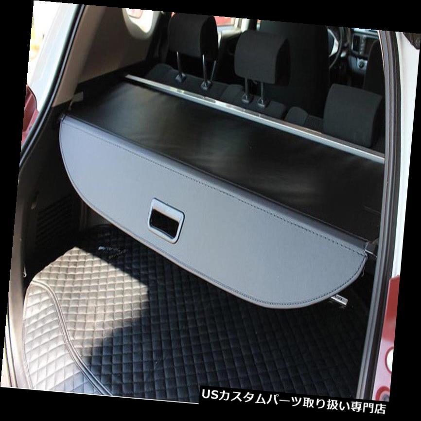 リアーカーゴカバー トヨタRAV4 2013-2016リアトランク貨物荷物シェードカバートリム詰め替え For Toyota RAV4 2013-2016 Rear Trunk Cargo Luggage Shade Cover Trims Refit