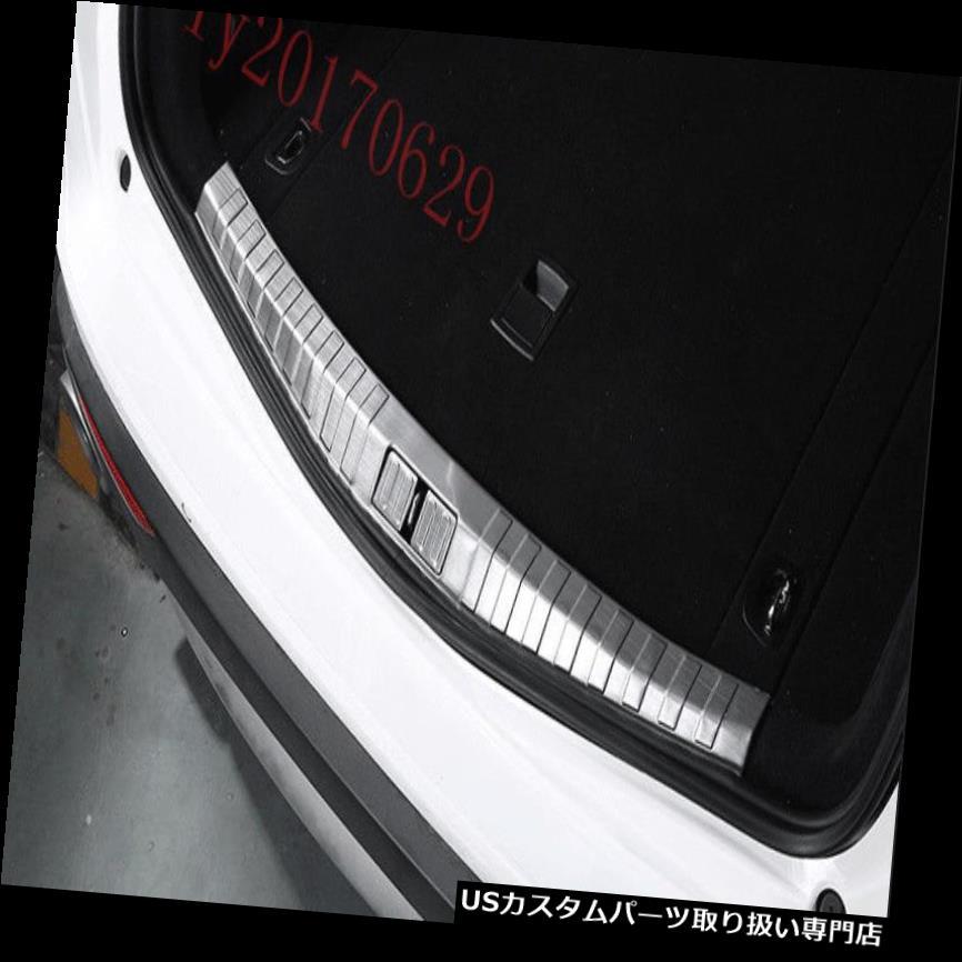リアーカーゴカバー アルファロメオステルヴィオ2017 2018用リアインテリアバンパーカーゴプロテクターシルカバー Rear interior Bumper Cargo Protector Sill Cover For Alfa Romeo Stelvio 2017 2018
