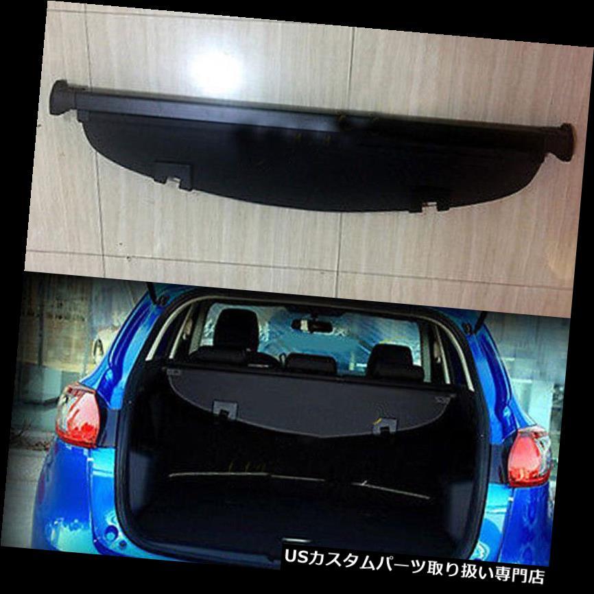 リアーカーゴカバー マツダCX-5 2013-2016ブラックリアトランクセキュリティシールドカーゴカバー1セット用フィット Fit For Mazda CX-5 2013-2016 Black Rear Trunk Security Shield Cargo Cover 1set