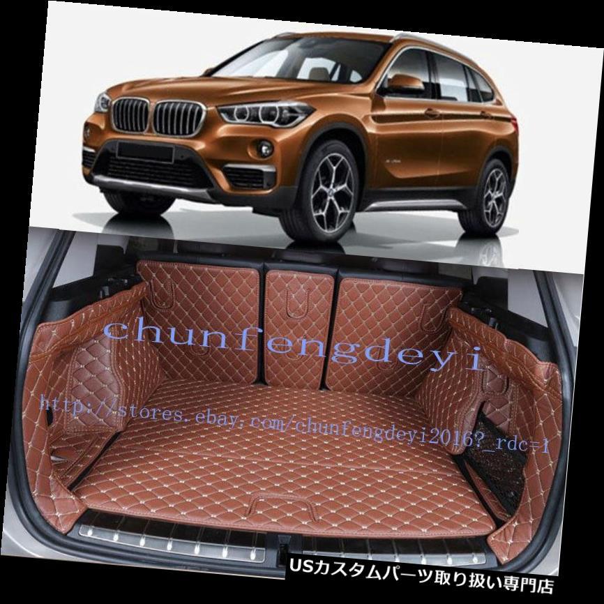 リアーカーゴカバー BMW X1 F48 2016-2017 6ピースリアトランクカバーカーゴマットシート&フロアプロテクター For BMW X1 F48 2016-2017 6pcs Rear Trunk Cover Cargo Mats Seat&Floor Protector
