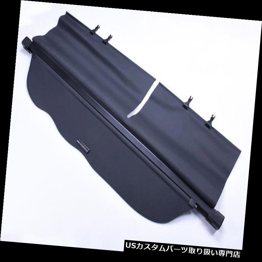 リアーカーゴカバー トヨタランドクルーザープラドFJ150 2010年?17リアトランクセキュリティ貨物カバーに適合 Fits For Toyota Land Cruiser Prado FJ150 2010~17 Rear Trunk Security Cargo Cover