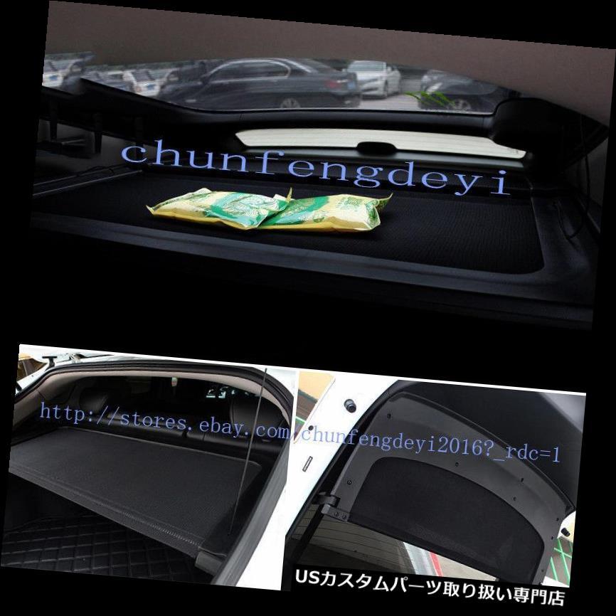 リアーカーゴカバー ホンダのcrossstourの引き込み式の後部貨物トランクカバー+後部絶縁板2pcのため For Honda crosstour Retractable Rear Cargo Trunk Cover+rear insulation board 2pc