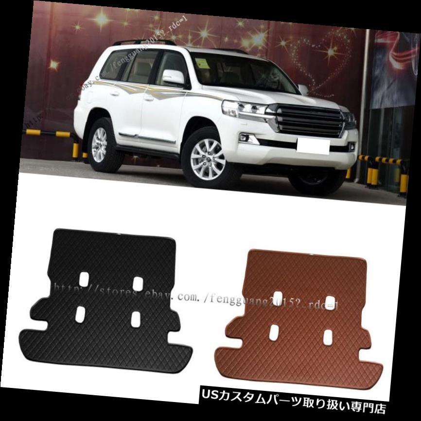 リアーカーゴカバー トヨタランドクルーザー2008-2017レザーリアトランクカバーカーゴマット1個用 For Toyota Land Cruiser 2008-2017 leather Rear Trunk Cover Cargo Mats 1pcs