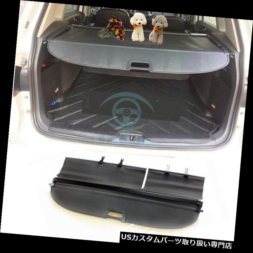 リアーカーゴカバー 1ピースブラックリアトランクセキュリティ貨物カバーシェイクフィットフォルクスワーゲンティグアン09-15 1pc Black Rear Trunk Security Cargo Covers Shade Fit For Volkswagen Tiguan 09-15