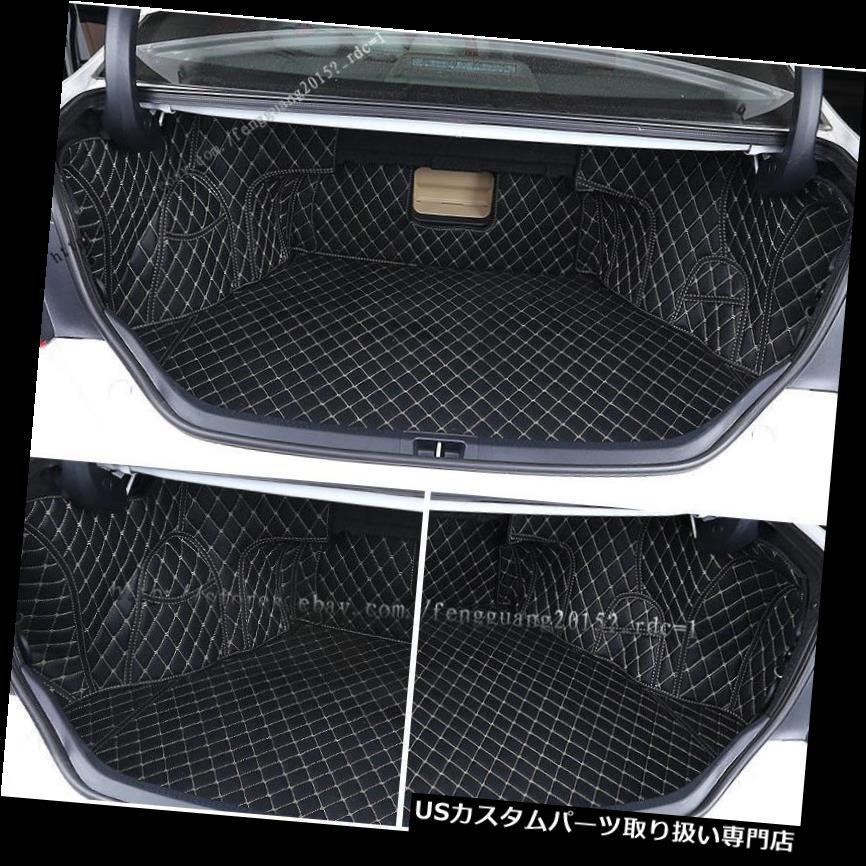 リアーカーゴカバー トヨタカムリ2012-2017レザーリアトランクカバーカーゴマットシートプロテクター5p用 for Toyota Camry 2012-2017 leather Rear Trunk Cover Cargo Mats Seat Protector 5p