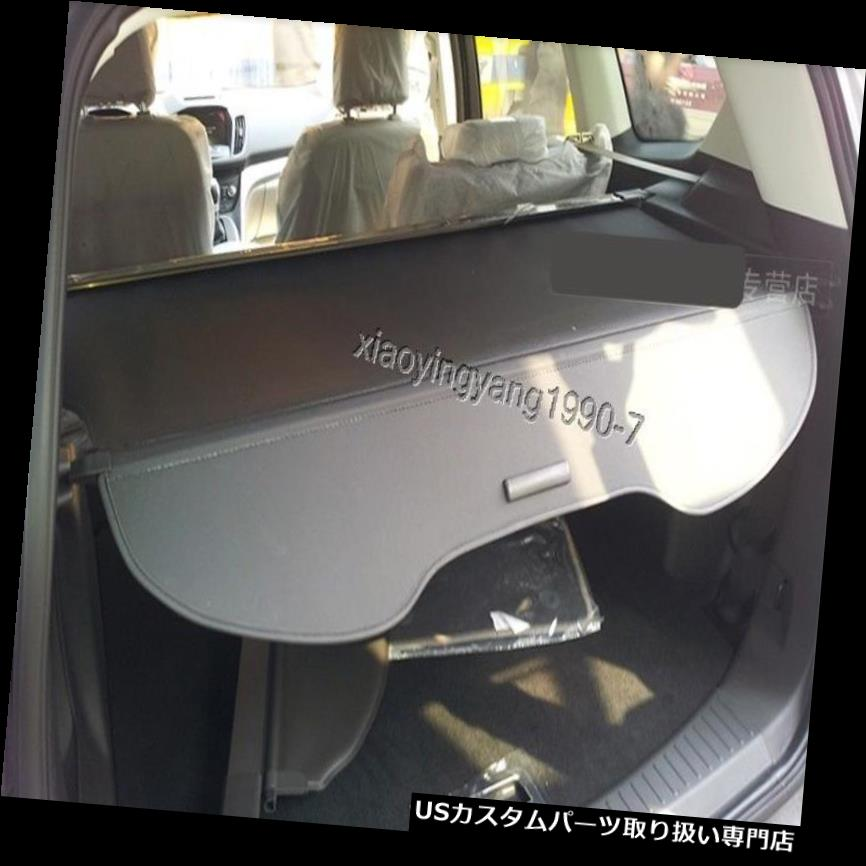 リアーカーゴカバー 2013-2017フォードエスケープKugaブラック用リアトランクシェードカーゴカバートリム Rear Trunk Shade Cargo Cover Trim for 2013-2017 Ford Escape Kuga Black