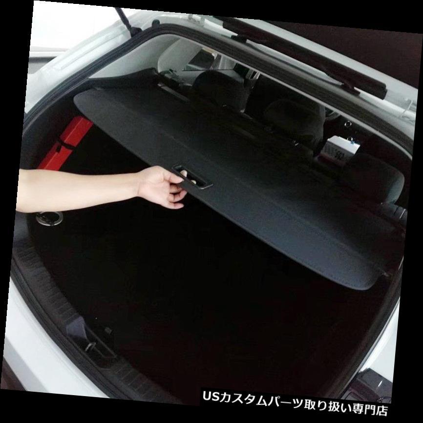 リアーカーゴカバー マツダCX-5 CX5 2017 2018ブラックリアトランクセキュリティシールドカーゴカバー1セット用 For Mazda CX-5 CX5 2017 2018 Black Rear Trunk Security Shield Cargo Cover 1set