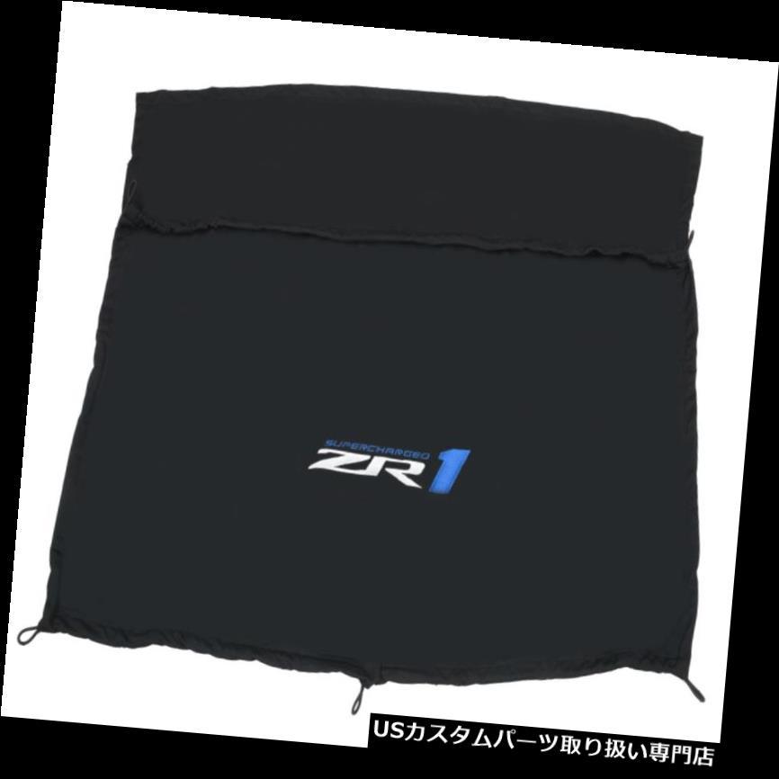 リアーカーゴカバー 2005-2013コルベットリアウィンドウカーゴシェードラゲッジカバークーペブラックw / ZR1ロゴ 2005-2013 Corvette Rear Window Cargo Shade Luggage Cover Coupe Black w/ ZR1 Logo
