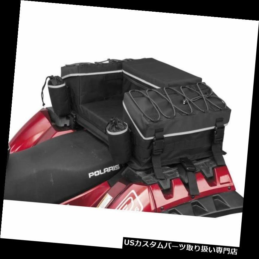 リアーカーゴカバー QUADBOSS QB3-001反射シリーズリアカーゴラックバッグ(統合ATVカバー付き) QUADBOSS QB3-001 Reflective Series Rear Cargo Rack Bag w/Integrated ATV Cover