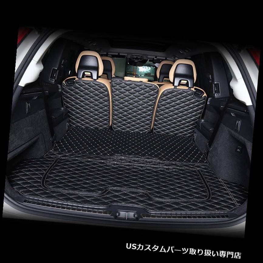 リアーカーゴカバー 6本16 17ボルボXC90用リアトランクカバーカーゴマットシートプロテクター 6pcs 16 17 Rear Trunk Cover Cargo Mats Seat Protector For Volvo XC90