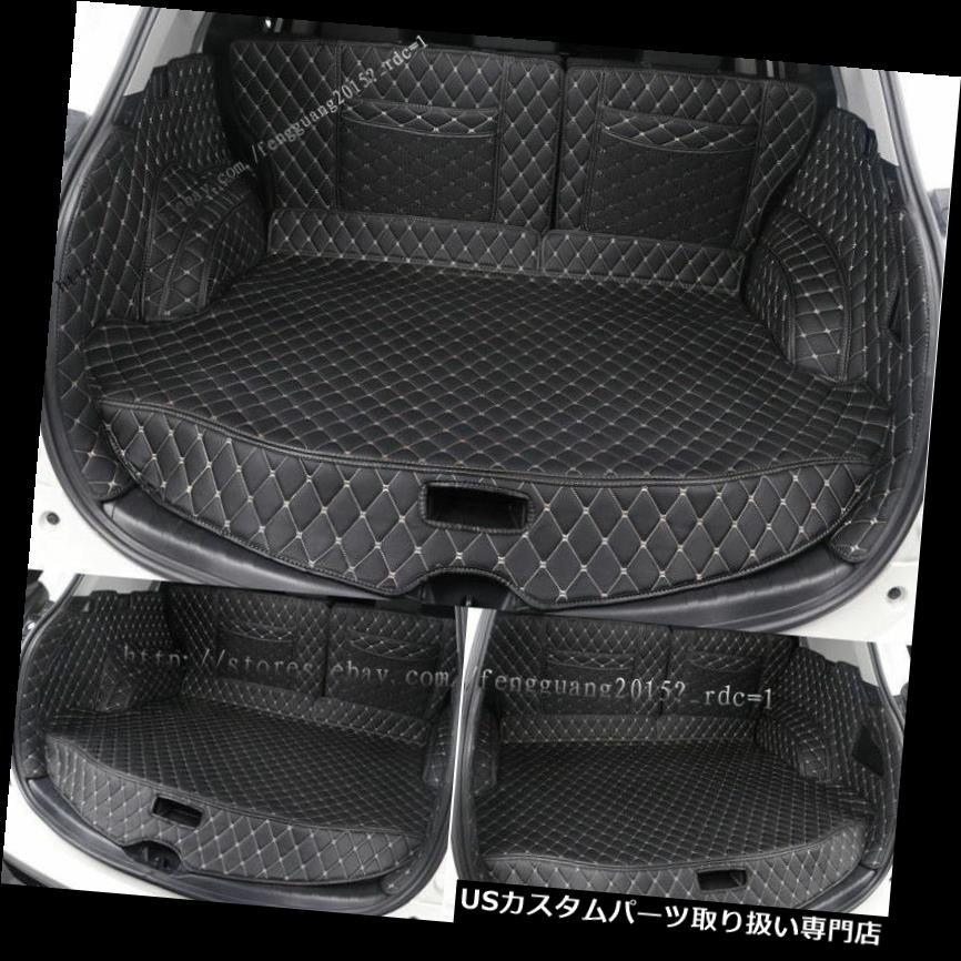 リアーカーゴカバー トヨタRAV4 2014-2017 5pc /セットリアトランクカバーカーゴマットシートプロテクター用フィット Fit For Toyota RAV4 2014-2017 5pc/set Rear Trunk Cover Cargo Mats Seat Protector