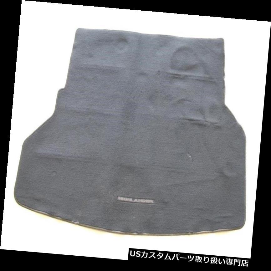 リアーカーゴカバー 08 09 10 11 12 13トヨタハイランドダーリアトランクカーゴカバーフロアマットラグブラック 08 09 10 11 12 13 TOYOTA HIGHLANDER REAR TRUNK CARGO COVER FLOOR MAT RUG BLACK