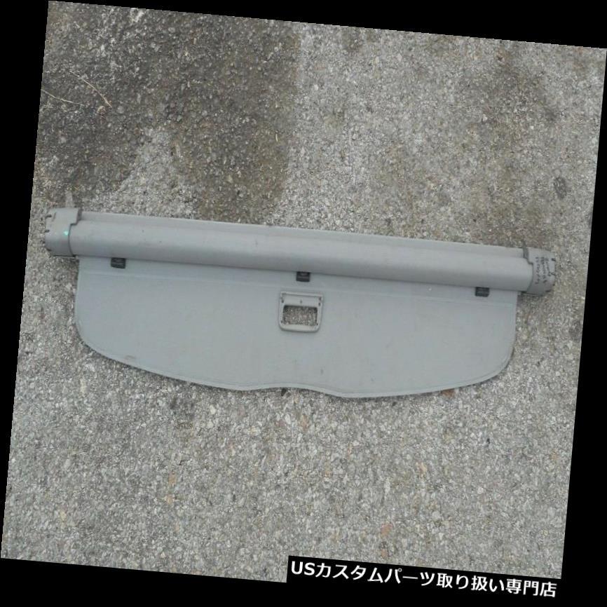 リアーカーゴカバー 01-05フォルクスワーゲンパサートワゴンリアハットカーゴカバー中古OEMグレー 01-05 VOLKSWAGEN PASSAT WAGON REAR HATCH CARGO COVER USED OEM GRAY