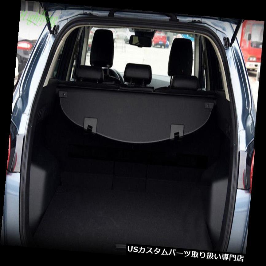 リアーカーゴカバー マツダCX-5 CX5 2013-16ブラックリアトランクセキュリティシールドカーゴカバー1セット用 For Mazda CX-5 CX5 2013-16 Black Rear Trunk Security Shield Cargo Cover 1set
