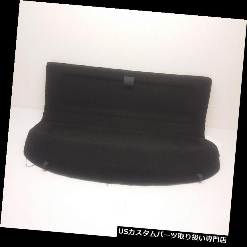 リアーカーゴカバー 04-09マツダ3ハッチバックリアトランクカーゴカバープライバシーシェルフシェードパネル - ブラック 04-09 Mazda 3 Hatchback Rear Trunk Cargo Cover Privacy Shelf Shade Panel - Black