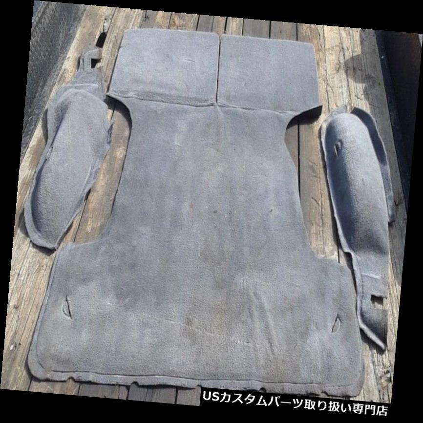 リアーカーゴカバー 90-95トヨタ4ランナー後部トランクカーゴカーペットグレー - wホイール・ウェルカバー素敵なOEM 90-95 Toyota 4Runner Rear Trunk Cargo Carpet GRAY - w Wheel Well Covers Nice OEM