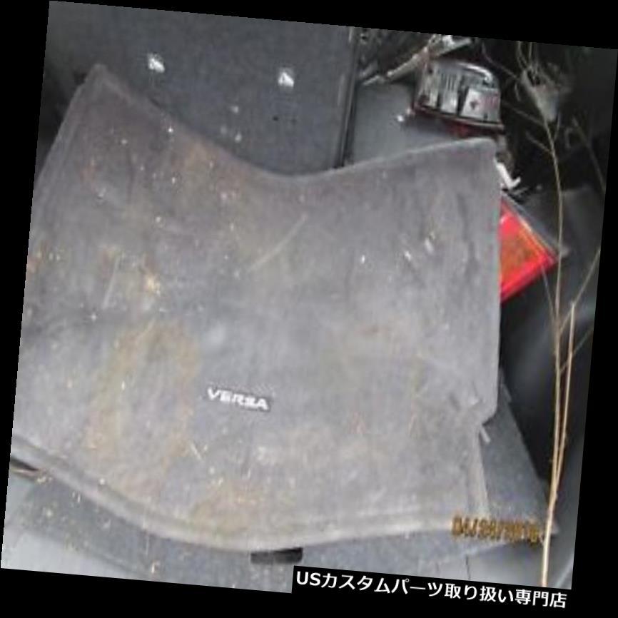 リアーカーゴカバー 14 15 16日産VERSA注ハッチバック後部トランクカーゴフロアマットカバートレイOEM 14 15 16 NISSAN VERSA NOTE HATCHBACK REAR TRUNK CARGO FLOOR MAT COVER TRAY OEM
