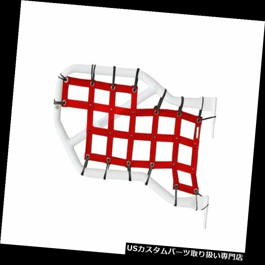 リアーカーゴカバー Steinjagerカーゴネットチューブドアカバーレッド、ラングラーJKリア。 J0043663 Steinjager Cargo Net Tube Door Covers-Red, Wrangler JK Rear ; J0043663