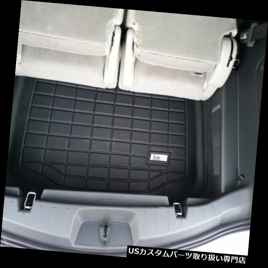 リアーカーゴカバー カーゴマットフロアマットWade Black 2011 - 2018フォードエクスプローラー Cargo mat Floor Mat By Wade Black 2011 - 2018 Ford Explorer