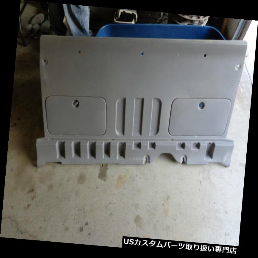 リアーカーゴカバー 後部タクシーのパネルの貨物カバーグレー03フォードトリトンF150 XLTは4 Dr 5.4 V8 OEMを拾います Rear Cab Panel Cargo Cover Grey 03 Ford Triton F150 XLT Pick Up 4 Dr 5.4 V8 OEM