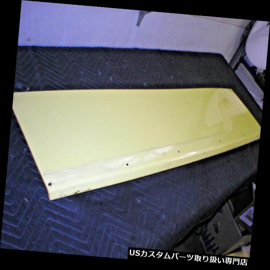リアーカーゴカバー 1982-92カマロリアカーゴハッチスチールカバーパネル86 87 88ナロースポイラースタイル 1982-92 Camaro Rear Cargo Hatch Steel Cover Panel 86 87 88 Narrow spoiler Style