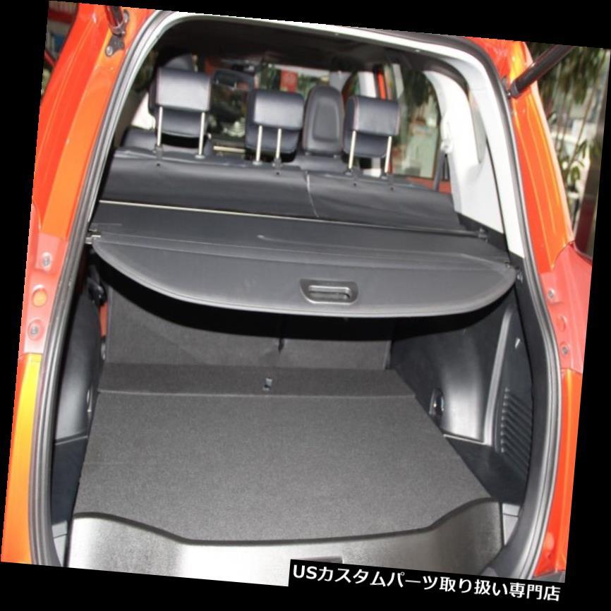 リアーカーゴカバー トヨタRav4 2013-2015ブラックリアロードカバー貨物荷物小包棚 Toyota Rav4 2013-2015 Black Rear Load Cover Cargo Luggage Parcel Shelf